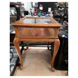 Vintage Shadow Box Side Table