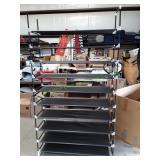 10 Shelf Closet Shoe Organizer