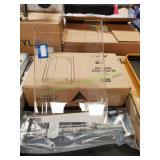 "Acrylic Triple Glove Box Holder 10""X16""X3 1/2"""