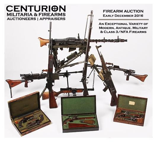 FIREARM AUCTION - Bid Now on NFA Machine Guns, Pistols