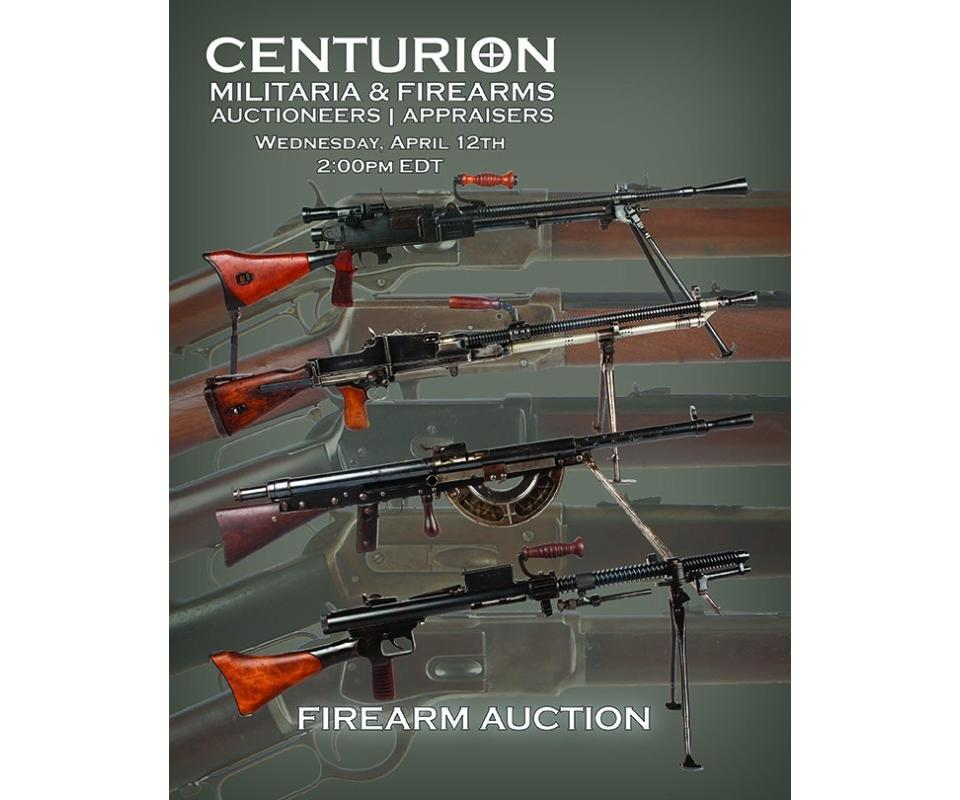 Online Firearm Auction - Modern, Military, Antique & Class 3