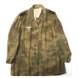 WWII GERMAN LUFTWAFFE FIELD DIVISION CAMO JACKET