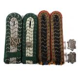 WWII GERMAN CUSTOM & RAILWAY DRESS SHOULDER BOARDS