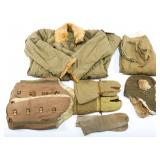 WWII JAPANESE COLD WEATHER UNIFORM COMPLETE GROUP