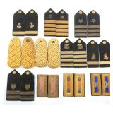 WWII US ARMY & NAVY OFFICER EPAULETS MIXED LOT