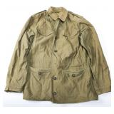 WWII US ARMY NURSE M43 WOMEN FIELD JACKET DATED 44