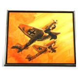 WWII GERMAN JUNKERS JU-87 STUKA  AIRCRAFT PAINTING