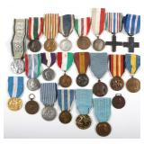 ITALY MIXED LOT OF 22 ITALIAN MEDALS
