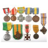 SCANDINAVIAN AND DUTCH MEDALS LOT OF 10