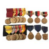 WWII USN NAVY MEDAL LOT OF 16