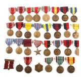 US MILITARY MEDAL MIXED LOT OF 30
