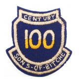 WWII US 100th INFANTRY SONS OF BITCHE PATCH