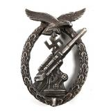 WWII GERMAN LUFTWAFFE FLACK BADGE