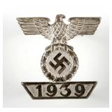 WWII GERMAN CLASPS TO THE IRON CROSS 1939 BY L/11