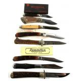 FOLDING KNIFE LOT OF 8