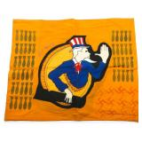WWII AAF B17 BAD PENNY 483rd BOMB GROUP FLAG