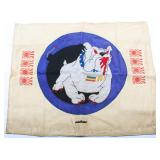 WWII USMC VMF-141 SQUADRON BATTLE FLAG