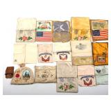 WWII US ARMED FORCES SWEATHEART MOTHER POUCH LOT