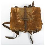 WWII EARLY JAPANESE ARMY FUR KNAPSACK