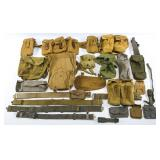 WWII BRITISH ARMY FIELD GEAR HUGE MIXED LOT