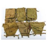 WWII US ARMY M1928 KNAPSACK LOT OF 3