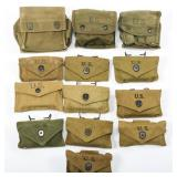 WWII US ARMY FIRST AID KIT & JUNGLE KIT MIXED LOT
