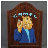 Joe Camel Dartboard and Cabinet