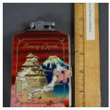 Vintage Longin Memory of Japan Lighter and Case
