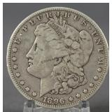 1896-O Morgan Silver Dollar