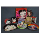 Group of Betty Boop Collectibles