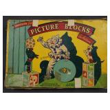 Vintage Picture Block Set by Halsm