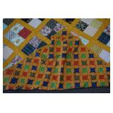 Vintage Hand Made Full Size Quilt