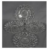 American Fostoria 4pc. Salad Plate Set