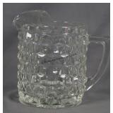 American Fostoria 70oz. Jug Pitcher with Ice Lip