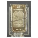 Ten Commandments 1oz. 999 Silver Bar