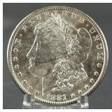 1881-S BU Morgan Silver Dollar