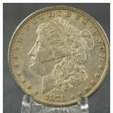 1878-S AU Morgan Silver Dollar