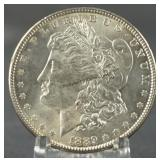1889 BU Morgan Silver Dollar