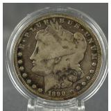1890-CC Morgan Silver Dollar  Key Date