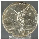 2002 Mexican 1oz. Silver Libertad