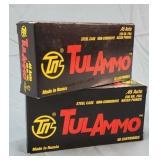 2 Boxes 100 Rds. TulAmmo 45 ACP 230gr. FMJ Ammo