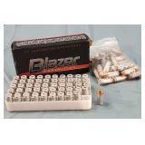 100 Rds. CCI 40 S&W Ammunition 1 Box & Bag of 50