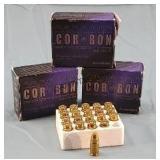 3 Boxes 60 Rds Corbon 357 Sig 125gr HP Ammunition