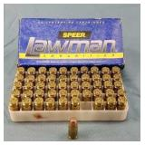 50 Rnd. Box Speer Lawman 357 Sig 125gr. TMJ Ammo