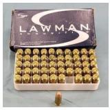 Box of 50 Speer Lawman 357 Sig 125gr. TMJ Ammo