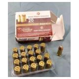 20 Round Box DRT 9mm 85gr. HP Ammunition