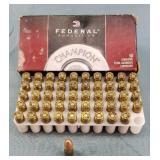 Box of 50 Federal Champion 9mm 115gr FMJ Ammo