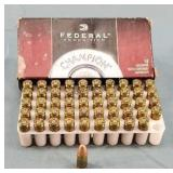 50 Rounds 9mm 115gr FMJ Box Federal Champion Ammo