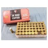 Box of 50 Fiochi 38 Sp.148gr Wad Cutter Ammo