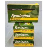 4 Boxes 20 Rds. Remington 12ga. #4 Buckshot